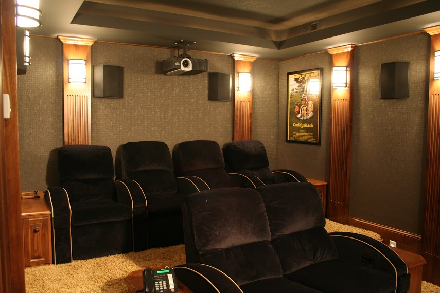 Custom Home Theater Home Automation Custom Home Theater